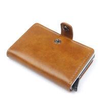 Vintage Business Brieftasche mit RFID Schutz