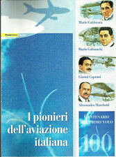 2003 I PIONIERI DELL'AVIAZIONE ITALIANA Folder
