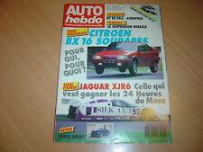 Auto hebdo N°577 BX GTi 16 Soupapes.Jaguar XRJ-6.