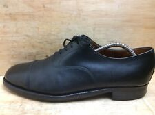 Feathermaster by Grenson Black Leather Oxford Shoes Size UK 9.5 EF EUR 43.5
