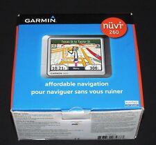 100% Brand New in Box Garmin nüvi 260 Automotive Mountable GPS Navigation System