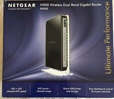Netgear N900 R4500 Wireless Dual-Band Gigabit Router