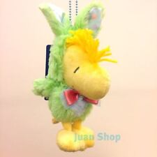 Peanuts Gang Woodstock Stuffed Plush Toy Doll with Key Chain USJ Easter Edition