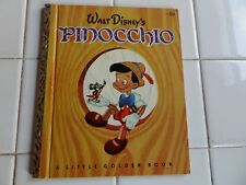 Pinocchio, A Little Golden Book,1948(Vintage Disney)