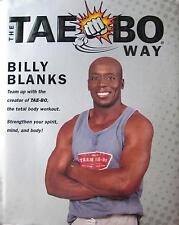 THE TAE BO WAY BY BILLY BLANKS BLACK BELT KARATE KUNG FU JIU-JITSU MARTIAL ARTS