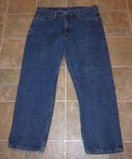 MENS LEVIS LEVI 550 JEANS SZ 36X30 RELAXED FIT TAPERED LEG SUPER BUY!
