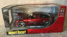 Jada Import Racer! NISSAN 240SX 1:24 Diecast Metal Candy Apple Red NIB VHTF!