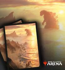 1x The Godzilla Lands Exclusive MTGA Code/Key Redeem for Godzilla Themed Sleeves