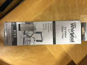 Whirlpool Ice Maker Water Filter
