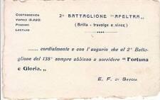 A4820) POTENZA WW1, 138 REGGIMENTO FANTERIA BARLETTA 2 BATTAGLIONE AFELTRA.
