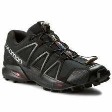 Salomon Authentic Men's Speedcross 4 Black Trail Running Shoes 383130