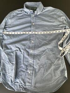 Gitman Vintage Chambray Shirt Size M