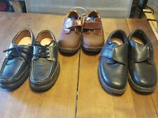 8M Mens Leather Dr Comfort shoes 2 pair, 1 OrthoFeet Leather 8.5D, You Choose