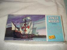 VINTAGE 1960s SANTA MARIA LINDBERG BOAT SHIP MODEL KIT