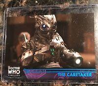 2016 Topps BBC Doctor Who Timeless Blue Foil #97 The Caretaker 70/99