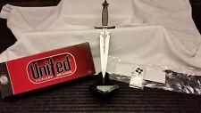 United Cutlery Uc1251 Sorcerer Fantasy Dagger Sword+Display Std-Nib