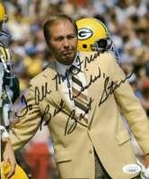 Bart Starr Jsa Coa Autograph 8x10 Photo  Hand Signed Authentic