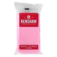 Renshaw Rollfondant DecorIce 250g Pink / Rosa - Tortendekoration Tortendecke