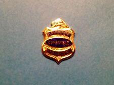 Rare Vintage Shawinigan Quebec Police Constable Jacket Hat Lapel Pin