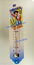 Thermomètre en métal le Bon PASTIS Provencal pub steel advertising thermometer