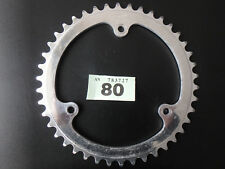 "NOS 42t STRONGLIGHT 116BCD 3/32"" 3 BOLT CHAINRING"