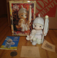 Precious Moments This Land is Our Land Christopher Columbus Figure w/ Box 527777