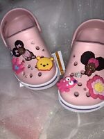 Crocs Clogs Girls 6/7 C Pink
