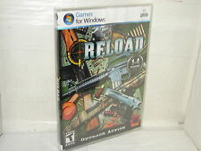 RELOAD  ....ARCADE SHOOTING GAME    (PC GAMES)   *****NEW SEALED*****