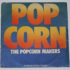 """POPCORN - THE POPCORN MAKERS & HOT BUTTER ~ Lot of 2 ~ 1972 7"""" 45's VG+ P/S"""