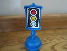 Fisher Price Little People City Village Town Main st traffic light signal blue