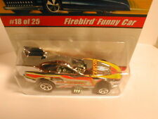 HW classics series 1  #18  FIREBIRD FUNNY CAR  silver chrome
