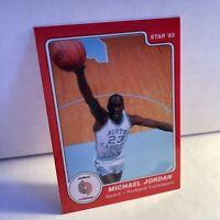 1985 Michael Jordan ERROR True Rookie RARE PORTLAND Star Company #9 Glossy *MINT