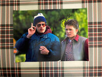 📸 Michael J. Fox Robert Zemeckis Back to the Future signed photo 6x8 inch coa