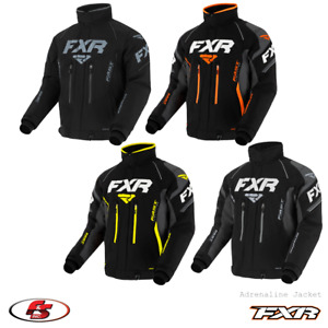 New 2021 FXR Adrenaline Men's Snowmobile Jacket Black ops/CharLG XL 2X
