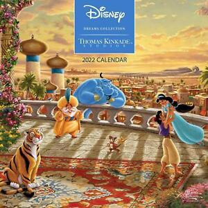 THOMAS KINKADE - DISNEY DREAMS - 2022 WALL CALENDAR - BRAND NEW - 864170