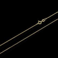 Schlangenkette 333er Gold Kette 3730, 50 cm lang, 3,4 Gramm 0,9 mm Breit