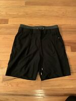Kit & Ace Covert Shorts Drawstring Cashmere Rayon Blend Black Womens Size 4