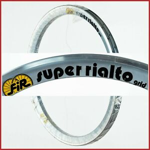 "NOS FIR SUPER RIALTO RIMS 28"" 18h HOLES 90s VINTAGE TIME TRIAL CRONO CLINCHER"