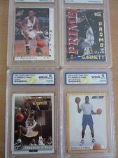 Lot of 4 WCG/Mint Gem NBA Trading Cards Kevin Garnett Shaq Anfernee Hardaway