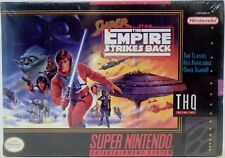 Star Wars The Empire Strikes Back SNES Super Nintendo Video Game New Sealed 1994