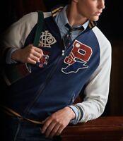 Polo Ralph Lauren Men P-Wing Patch Varsity Track Jacket M, L, XL, 2XL