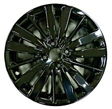"16"" Honda Fit 15 16 17 18 19 Factory OEM Rim Wheel 64073 64123 Black Full Face"