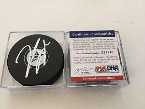 Jason Spezza Signed Dallas Stars Hockey Puck PSA DNA COA Autographed c