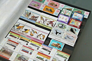 TUVALU - UNMOUNTED MINT COLLN IN DOUBLE SIDED STOCKSHEET