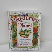 The Vegetarian Planet : 350 Big-Flavor Recipes by Didi Emmons [Paperback] NEW