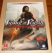 Prince of Persia-The Forgotten Sands-prima-OFFICIAL GAME GUIDE (soluzione)