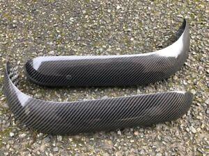 Pair Escort Mk1 Full Carbon Fibre Front Quarter Bumpers Carbonfibre