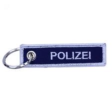 Schlüsselanhänger Polizei, beidseitig bestickt, Geschenk, Accessoire