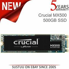 Crucial MX500 M.2Type 2280 500GB SATA III Solid State Drive│Internal SSD│3D NAND