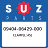 09404-06429-000 Suzuki Clamp(l:45) 0940406429000, New Genuine OEM Part